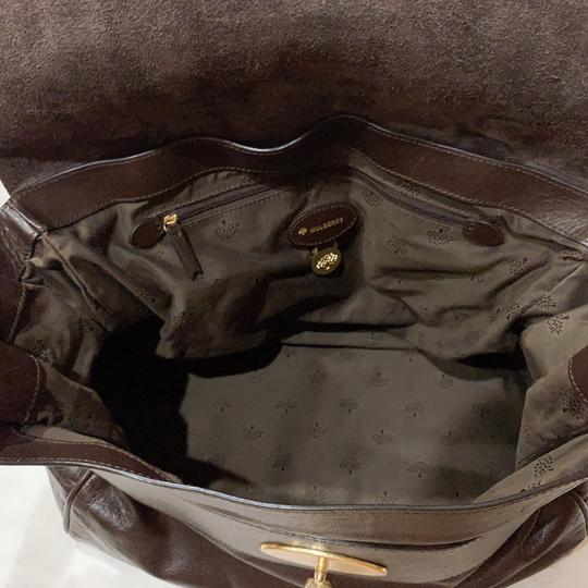 Mulberry Satchel in chocolate Image 5