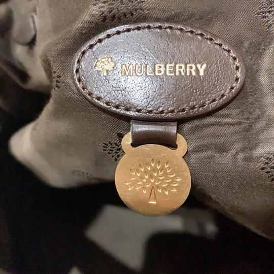 Mulberry Satchel in chocolate Image 8
