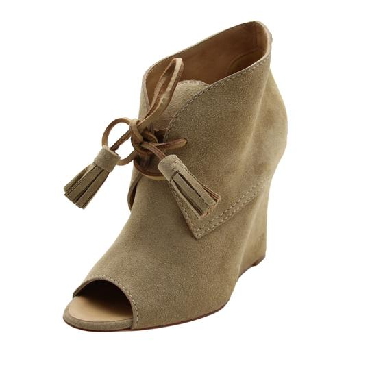 Preload https://img-static.tradesy.com/item/25350535/dsquared2-beige-new-women-suede-leather-peep-toe-wedge-heel-lace-up-bootsbooties-bootsbooties-size-u-0-2-540-540.jpg