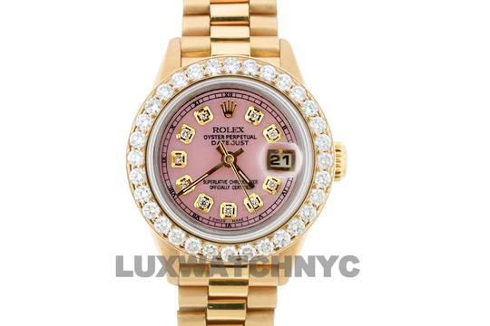 ROLEX 1.8CT 26MM DATEJUST 18K GOLD PRESIDENTIAL WITH BOX & APPRAISAL Image 1