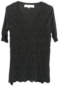 Lela Rose Top Black