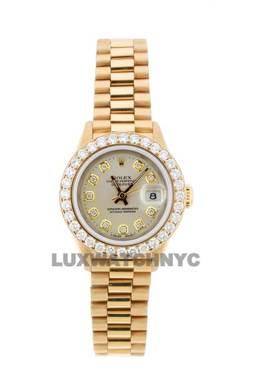 Preload https://img-static.tradesy.com/item/25350562/rolex-off-white-dial-18ct-26mm-datejust-18k-gold-presidential-with-box-and-appraisal-watch-0-0-540-540.jpg