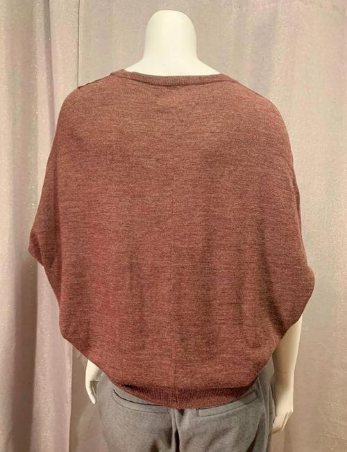 Allsaints Office V Neck Mixed Fabric New Sweater Image 1