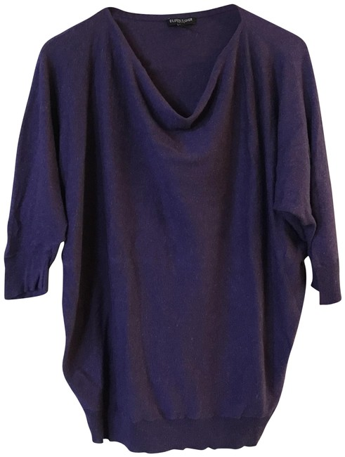 Eileen Fisher Linen Cotton Viscose Cowlneck Sweater Image 0