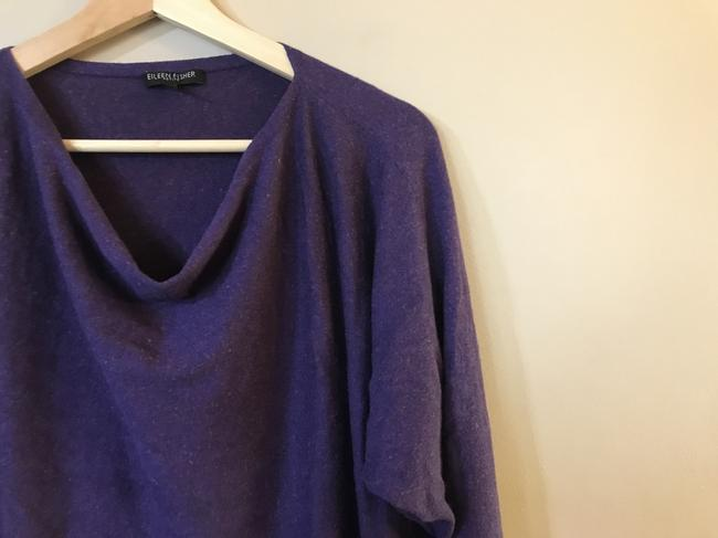 Eileen Fisher Linen Cotton Viscose Cowlneck Sweater Image 2
