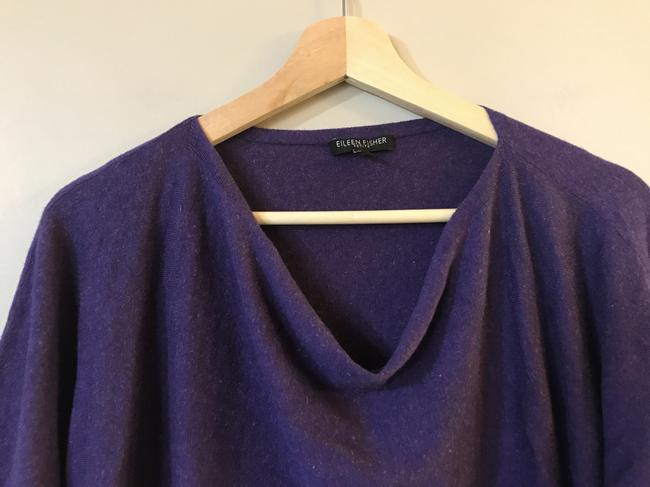 Eileen Fisher Linen Cotton Viscose Cowlneck Sweater Image 5