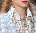 Chanel Chanel 2019 Runway Rainbow Long Earrings Image 7