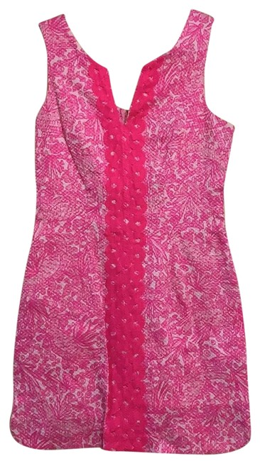 Preload https://img-static.tradesy.com/item/25350654/lilly-pulitzer-for-target-pink-none-short-cocktail-dress-size-4-s-0-1-650-650.jpg
