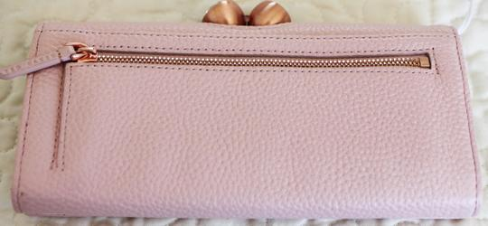 Ted Baker Ted Baker Muscovy Bobble Matinee light Pink Leather Wallet Image 2