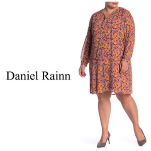 82c67b6745a9 Daniel Rainn short dress Mauve Shift Tie Front Plus-size Longsleeve on  Tradesy