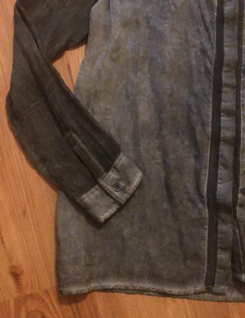 DKNY Top Charcoal Image 1