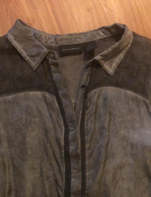 DKNY Top Charcoal Image 3