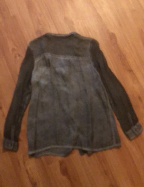 DKNY Top Charcoal Image 5