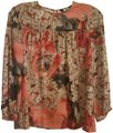 Ted Baker Floral Date Night Spring Fall Silver Hardware Top Pink Image 0