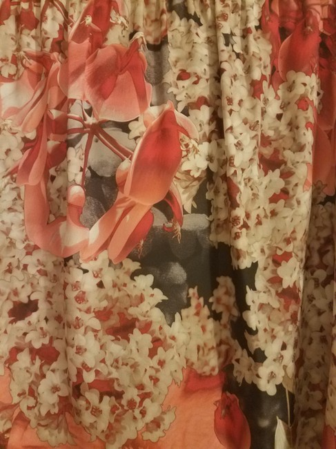 Ted Baker Floral Date Night Spring Fall Silver Hardware Top Pink Image 4