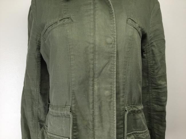 Lucky Brand Cargo Utility Cotton Military Jacket Image 1