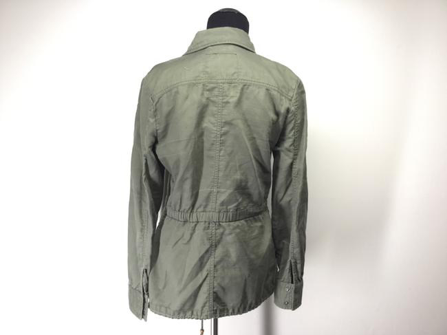 Lucky Brand Cargo Utility Cotton Military Jacket Image 2