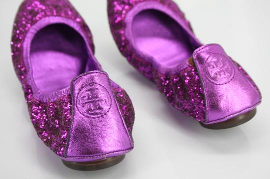 Tory Burch Purple Flats Image 10