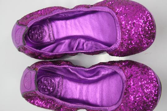 Tory Burch Purple Flats Image 2