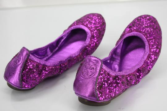 Tory Burch Purple Flats Image 9