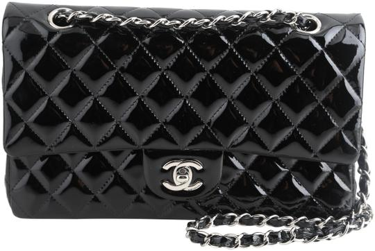 Preload https://img-static.tradesy.com/item/25350856/chanel-classic-flap-quilted-medium-double-black-patent-leather-shoulder-bag-0-1-540-540.jpg