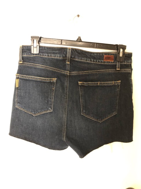 Paige Denim Shorts-Distressed Image 2