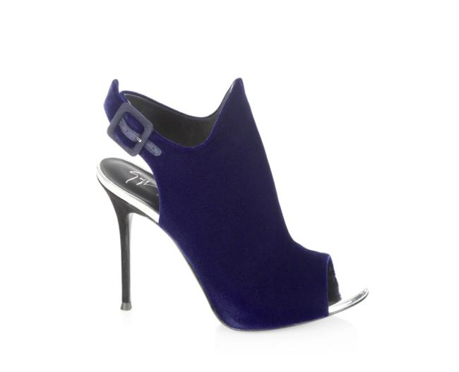 Item - Blue New Mistico Veronica Suede Open Boots/Booties Size EU 40 (Approx. US 10) Regular (M, B)