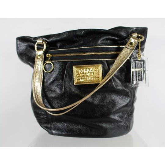 Coach Tote in black and gold Image 1