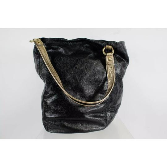 Coach Tote in black and gold Image 3
