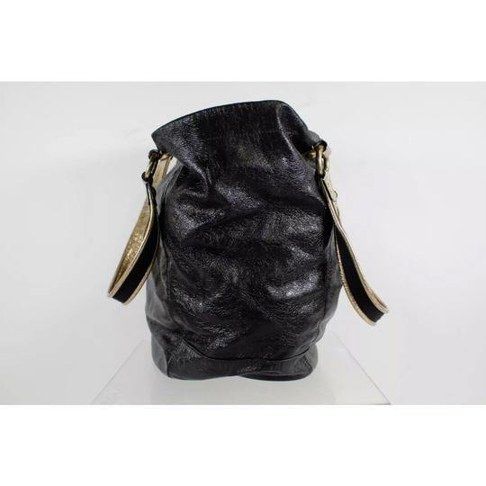 Coach Tote in black and gold Image 4