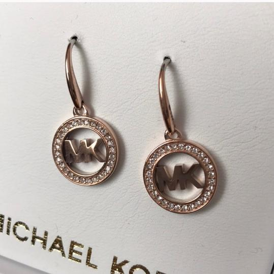 Michael Kors Michael Kors Rose Gold Earrings New In Box Image 2