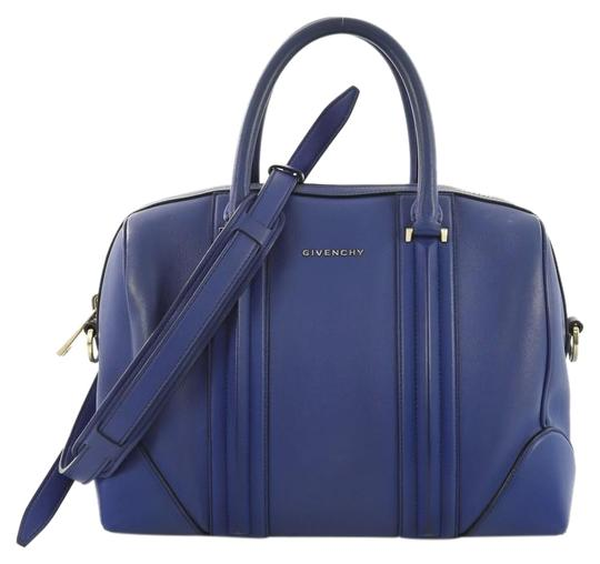 Givenchy Leather Satchel in blue Image 0