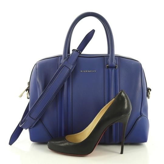 Givenchy Leather Satchel in blue Image 1