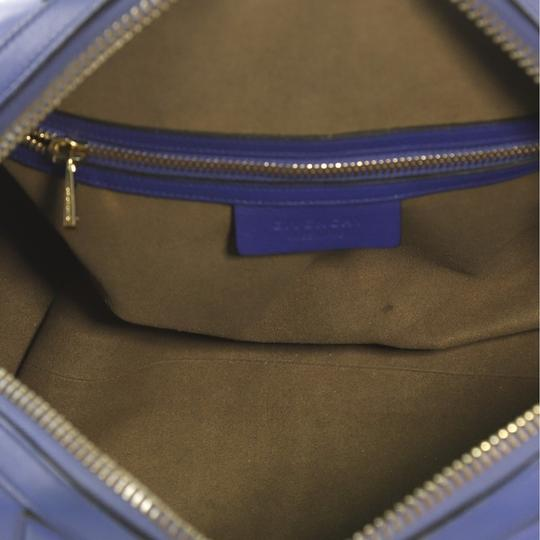 Givenchy Leather Satchel in blue Image 10