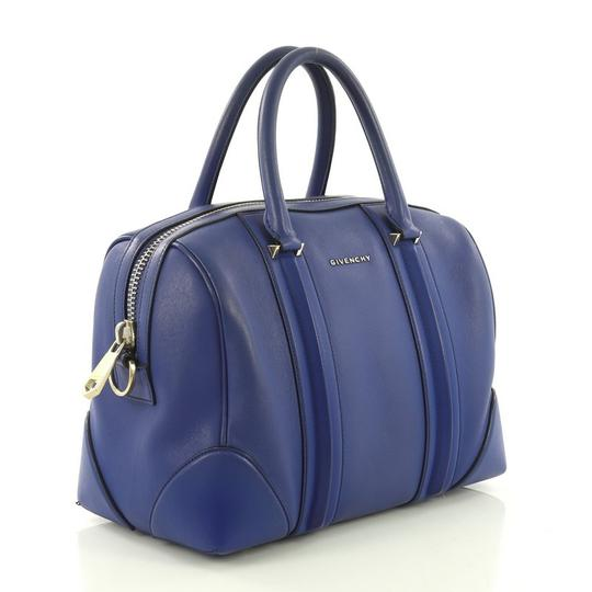 Givenchy Leather Satchel in blue Image 2