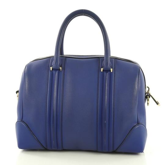 Givenchy Leather Satchel in blue Image 3