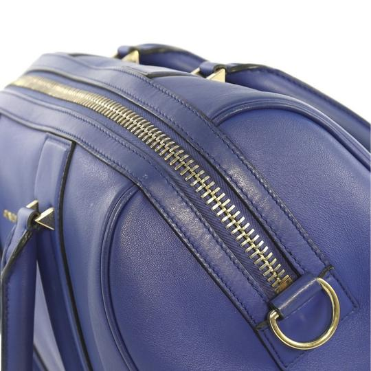 Givenchy Leather Satchel in blue Image 6