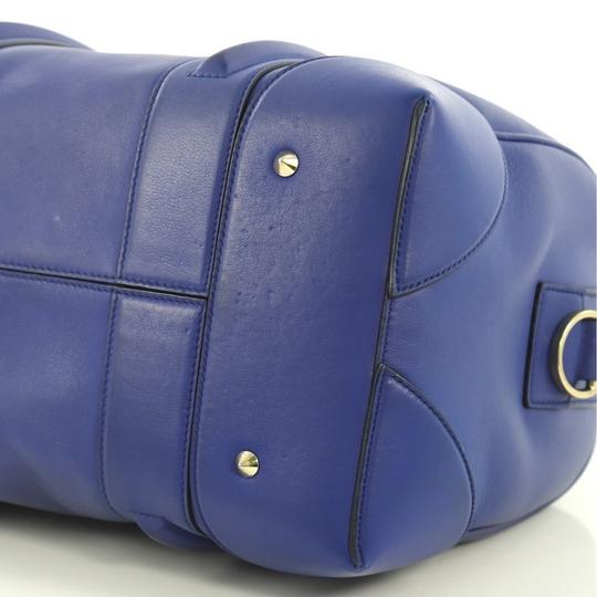 Givenchy Leather Satchel in blue Image 8