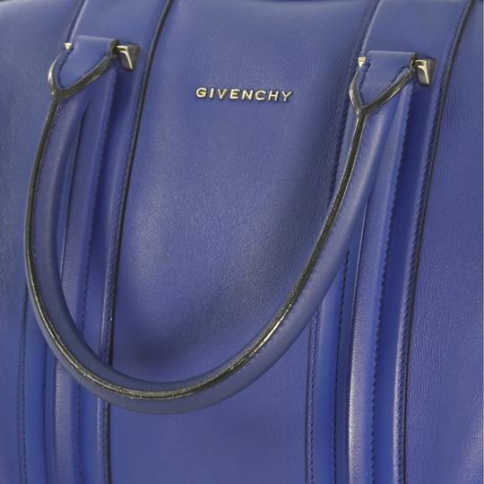 Givenchy Leather Satchel in blue Image 9