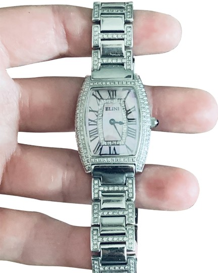 Preload https://img-static.tradesy.com/item/25351291/silver-dolce-diamond-and-mother-of-pearl-watch-0-1-540-540.jpg