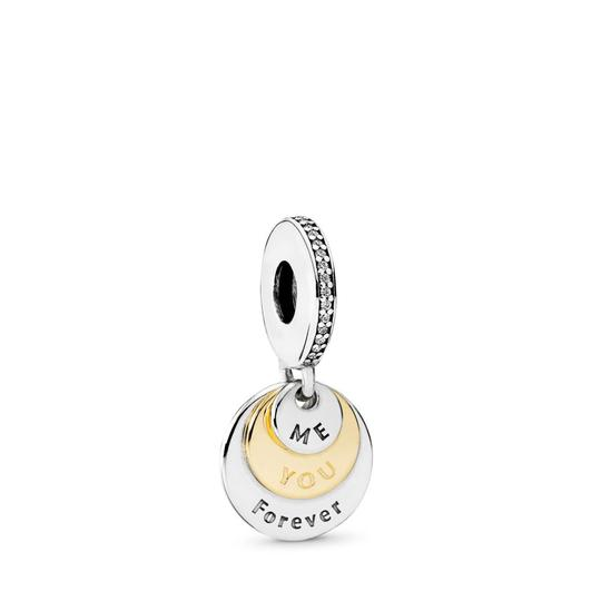 Preload https://img-static.tradesy.com/item/25351420/pandora-gold-you-and-me-forever-dangle-clear-cz-charm-0-0-540-540.jpg