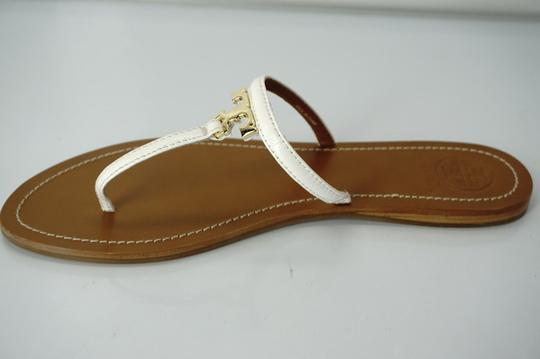 Tory Burch White Sandals Image 10