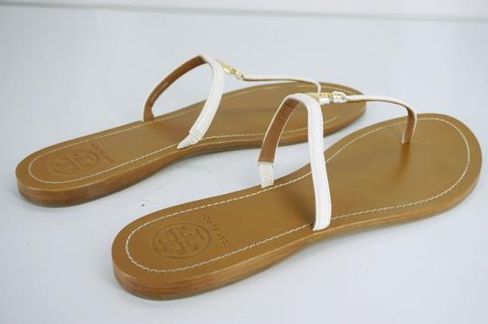 Tory Burch White Sandals Image 3