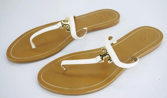 Tory Burch White Sandals Image 7