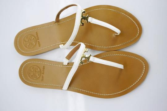 Tory Burch White Sandals Image 8
