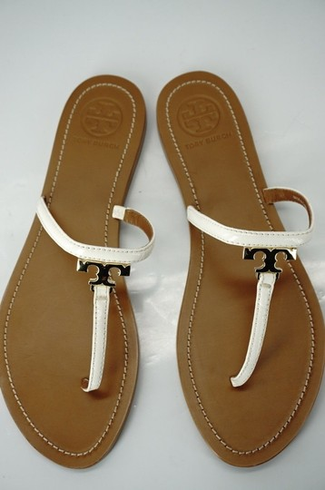 Tory Burch White Sandals Image 9