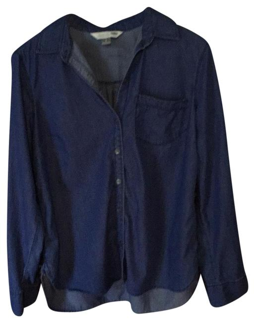 Old Navy Button Down Shirt Blue Image 0