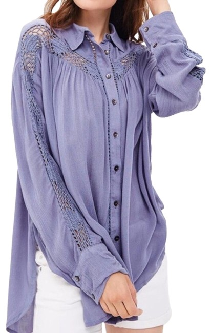 Preload https://img-static.tradesy.com/item/25351443/free-people-katie-bird-crochet-inset-shirt-blouse-button-down-top-size-4-s-0-1-650-650.jpg