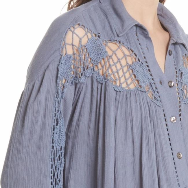 Free People Button Down Shirt Image 1