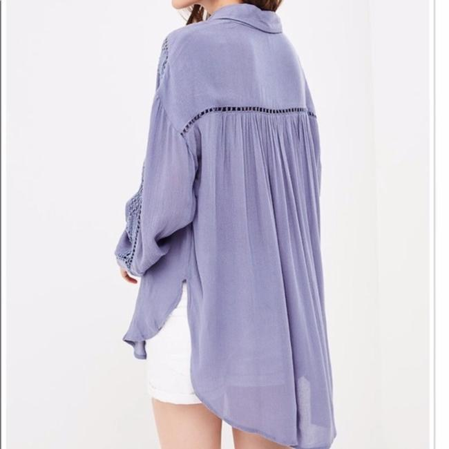Free People Button Down Shirt Image 3